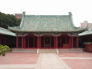 延平郡王祠──台湾の旅(9):海...